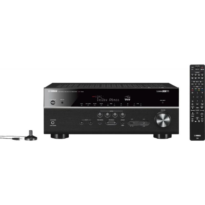 Yamaha - 630W 7.2-Ch. 4K Ultra HD A/V Home Theater...