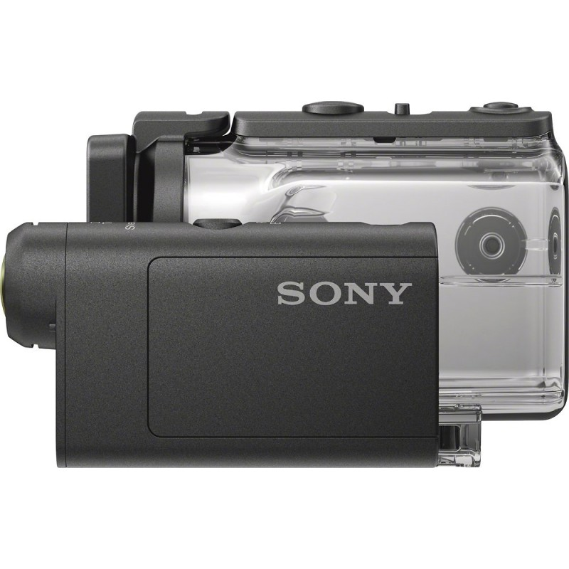 Sony - HDR-AS50 HD Action Camera with Live View Remote - Black