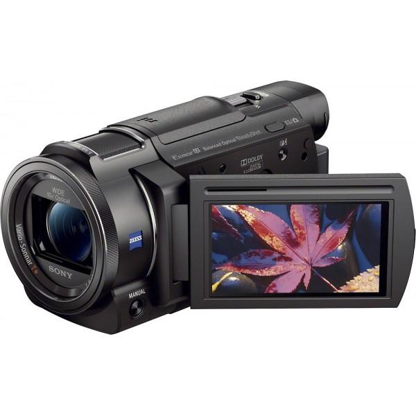 Sony - Handycam AX33 4K Flash Memory Camcorder - B...