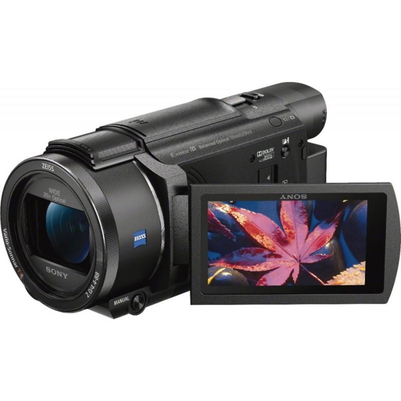 Sony - Handycam AX53 4K Flash Memory Premium Camcorder - Black