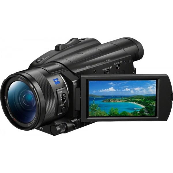 Sony - Handycam® FDR-AX700 Flash Memory Premium C...