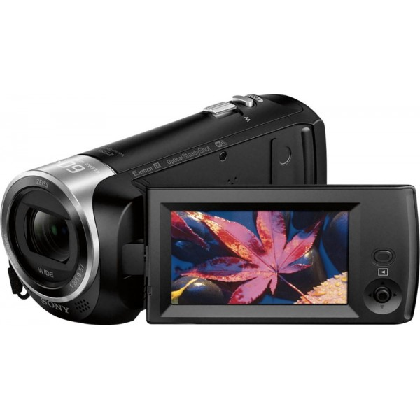 Sony - Handycam CX440 Flash Memory Camcorder - Bla...
