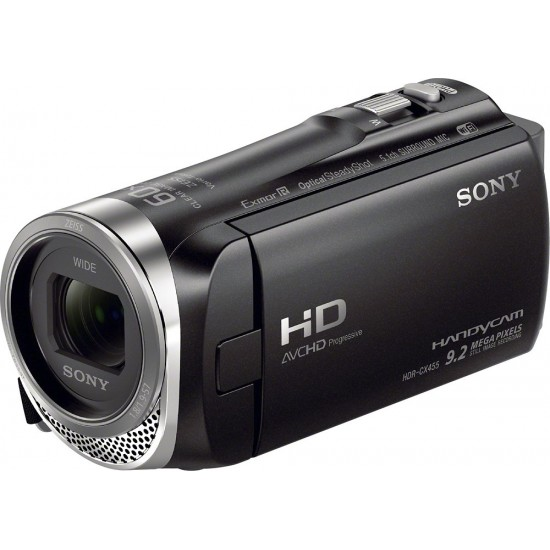 Sony - Handycam CX455 8GB Flash Memory Camcorder - Black