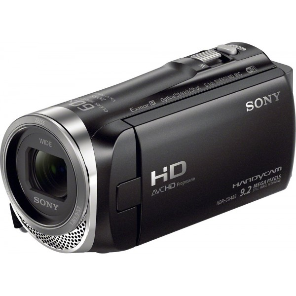 Sony - Handycam CX455 8GB Flash Memory Camcorder -...