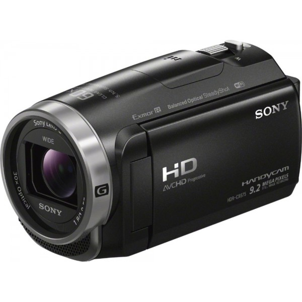 Sony - Handycam CX675 32GB Flash Memory Camcorder ...