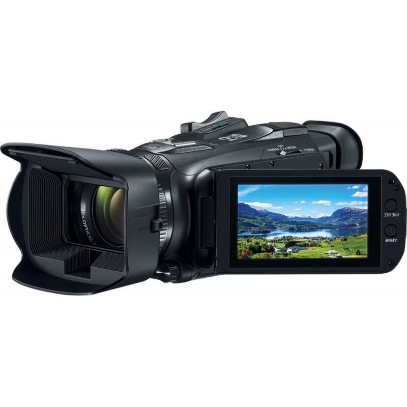 Canon - VIXIA HF G21 HD Flash Memory Premium Camcorder - Black