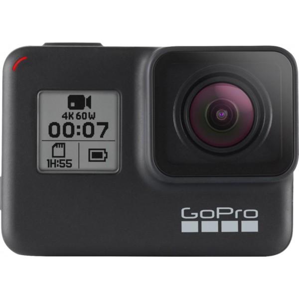 GoPro - HERO7 Black HD Waterproof Action Camera - ...