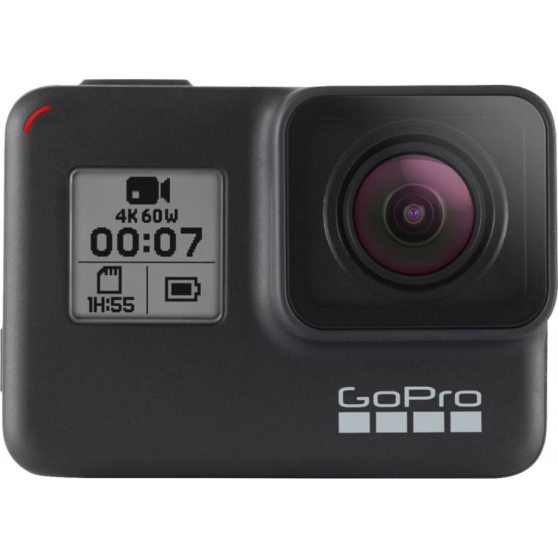 GoPro - HERO7 Black HD Waterproof Action Camera - ...
