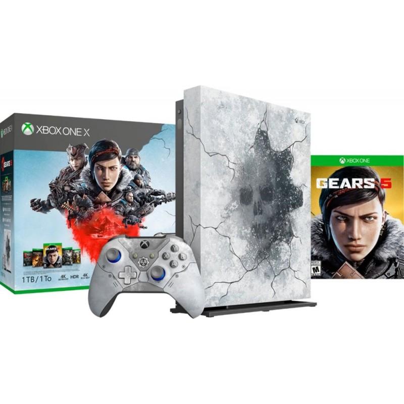 Microsoft - Xbox One X 1TB Gears 5 Limited Edition...