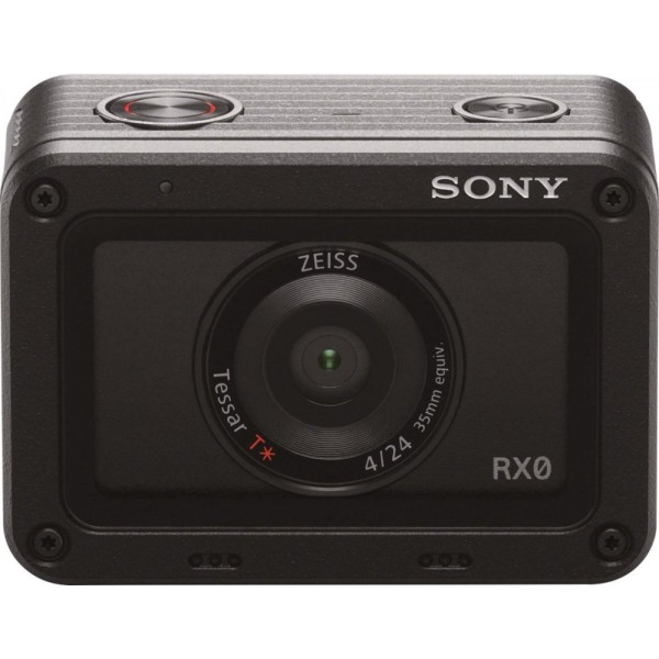 Sony - RX0 HD Waterproof Action Camera - black