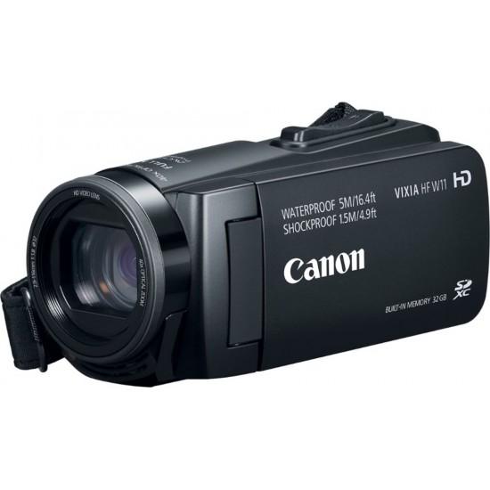 Canon - VIXIA HF W11 32GB HD Flash Memory Camcorder - Black