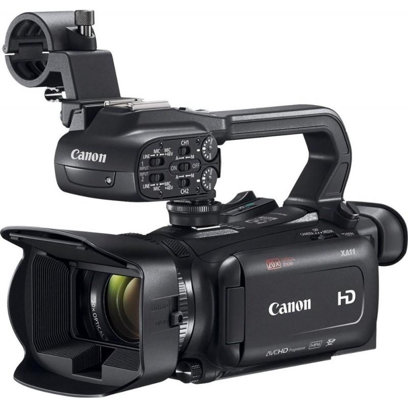 Canon - XA11 HD Flash Memory Premium Camcorder - Black