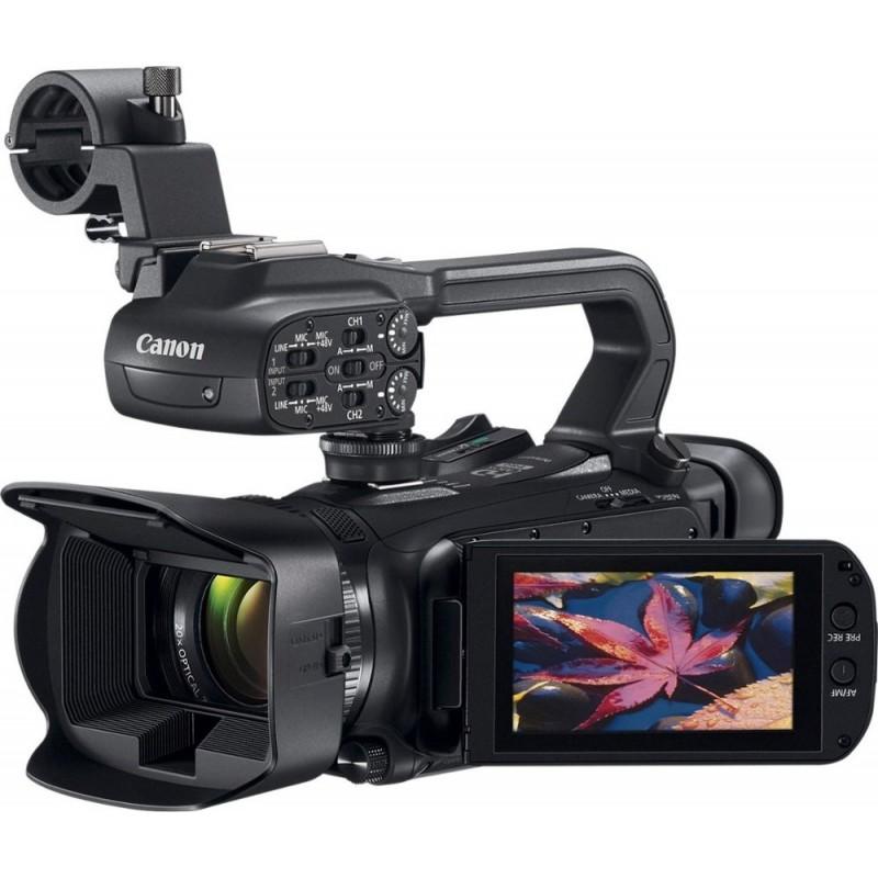 Canon - XA11 HD Flash Memory Premium Camcorder - B...