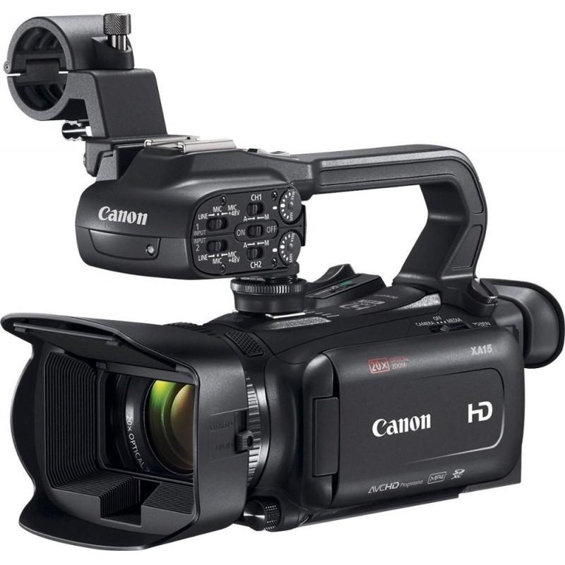 Canon - XA15 HD Flash Memory Premium Camcorder - B...