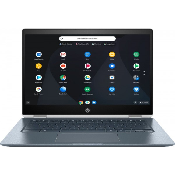 "HP - 2-in-1 14"" Touch-Screen Chromebook - Int..."
