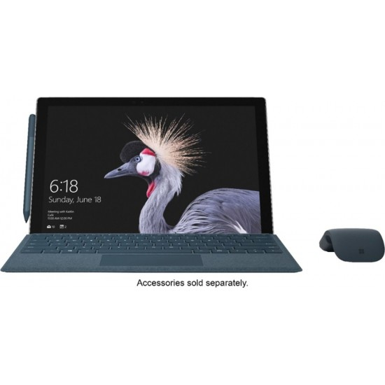 """Microsoft - Surface Pro – 12.3"""" Touch-Screen – Intel Core i7 – 16GB Memory - 1TB Solid State Drive (Fifth Generation) - Silver"""