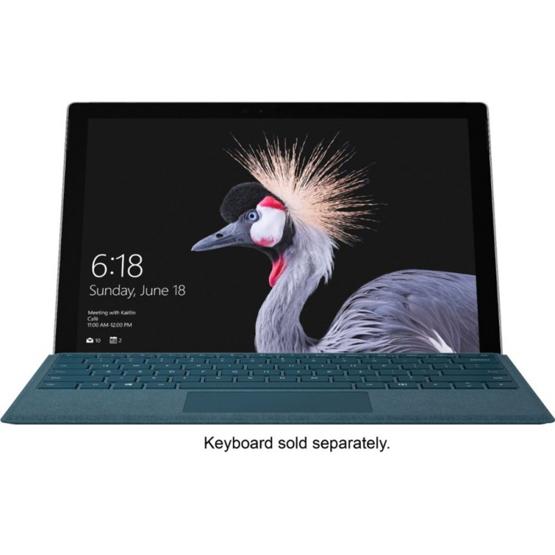 "Microsoft - Surface Pro LTE Advanced (Unlocked) - 12.3"" Touch-Screen - Intel Core i5 - 8GB Memory - 256GB SSD (Fifth Generation) - Silver"