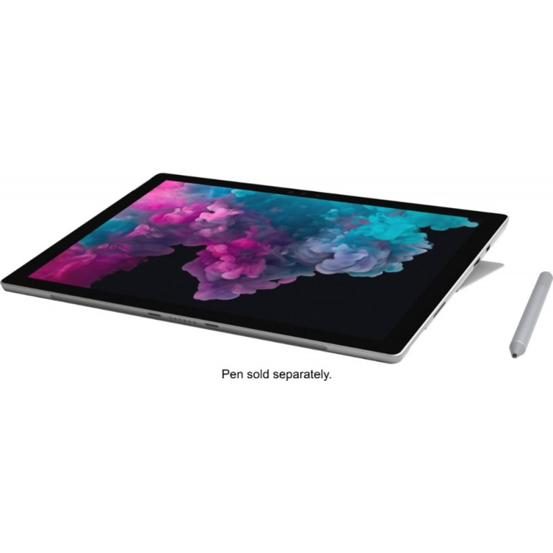 "Microsoft - Surface Pro - 12.3"" Touch Screen - Intel Core M3 - 4GB Memory - 128GB SSD - With Keyboard - Platinum"
