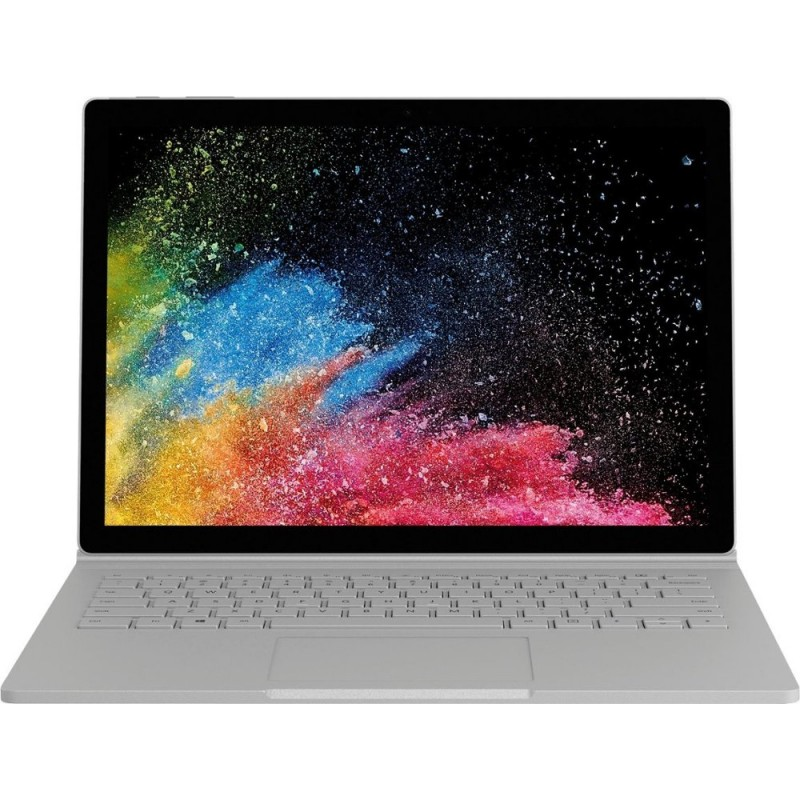 "Microsoft - Surface Book 2 - 13.5"" Touch-Screen PixelSense™ Display - Intel Core i7 / 16GB / 512GB dGPU - Silver"