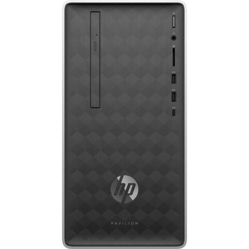 HP - Pavilion Desktop - AMD Ryzen 5-Series - 12GB ...