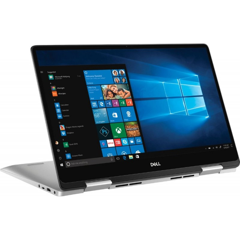 "Dell - Inspiron 2-in-1 15.6"" Touch-Screen Laptop - Intel Core i5 - 8GB Memory - 256GB Solid State Drive - Silver"