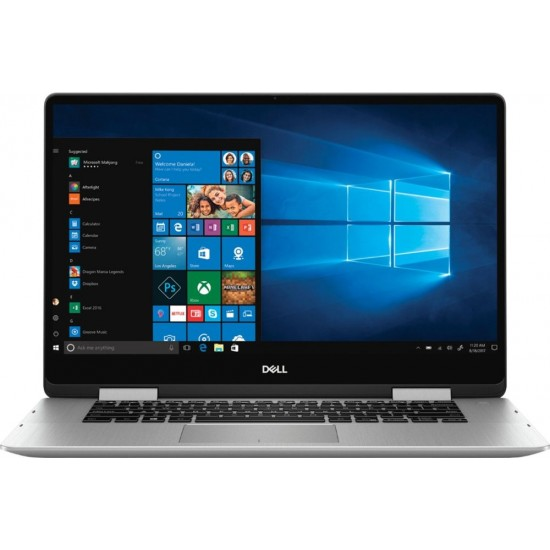 """Dell - Inspiron 2-in-1 15.6"""" Touch-Screen Laptop - Intel Core i5 - 8GB Memory - 256GB Solid State Drive - Silver"""
