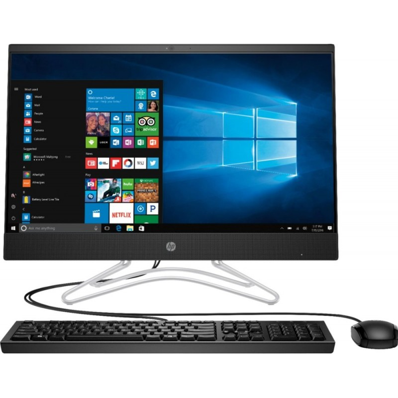 "HP - 23.8"" Touch-Screen All-In-One - Intel Co..."