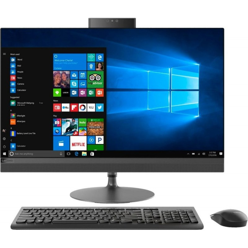"Lenovo - 520-27IKL 27"" Touch-Screen All-In-On..."