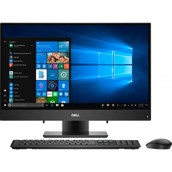 "Dell - Inspiron 23.8"" Touch-Screen All-In-One - Intel Core i3 - 8GB Memory - 256GB Solid State Drive - Black"