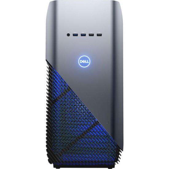 Dell - Inspiron Desktop - AMD Ryzen 5-Series - 8GB Memory - AMD Radeon RX 570 - 1TB Hard Drive - Recon Blue With Solid Panel
