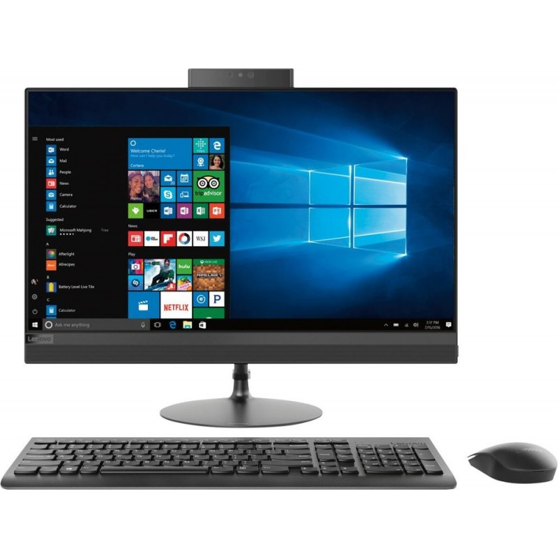 "Lenovo - 520-24ARR 23.8"" Touch-Screen All-In-..."