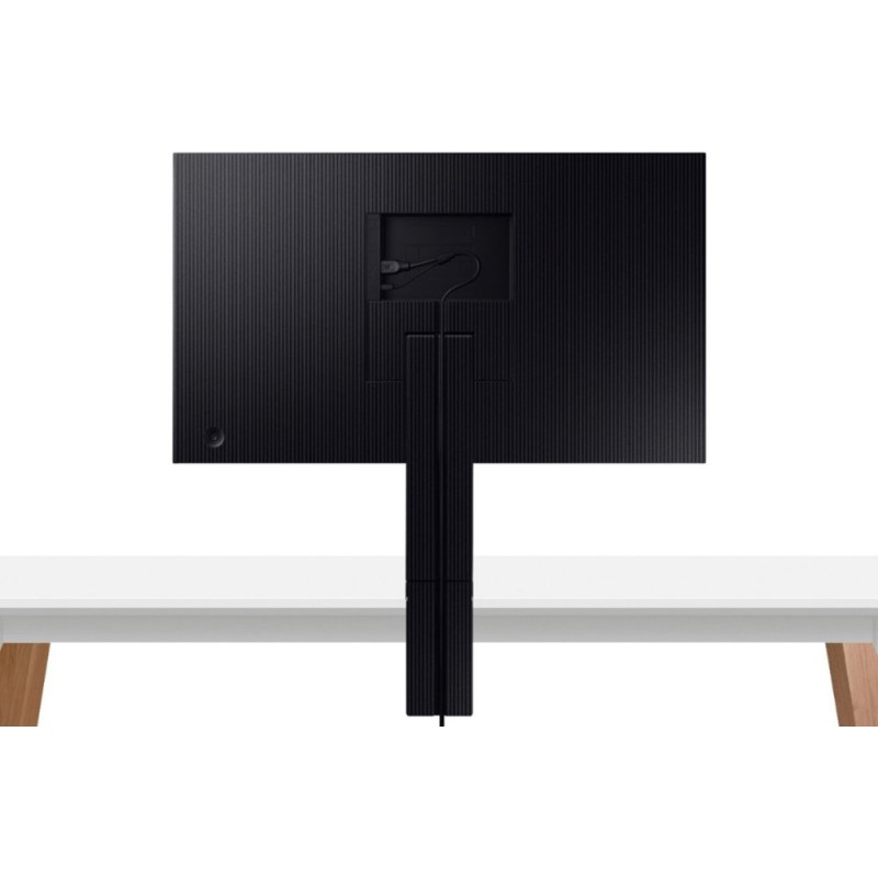 "Samsung - 31.5"" LCD 4K UHD Space Monitor - Black"