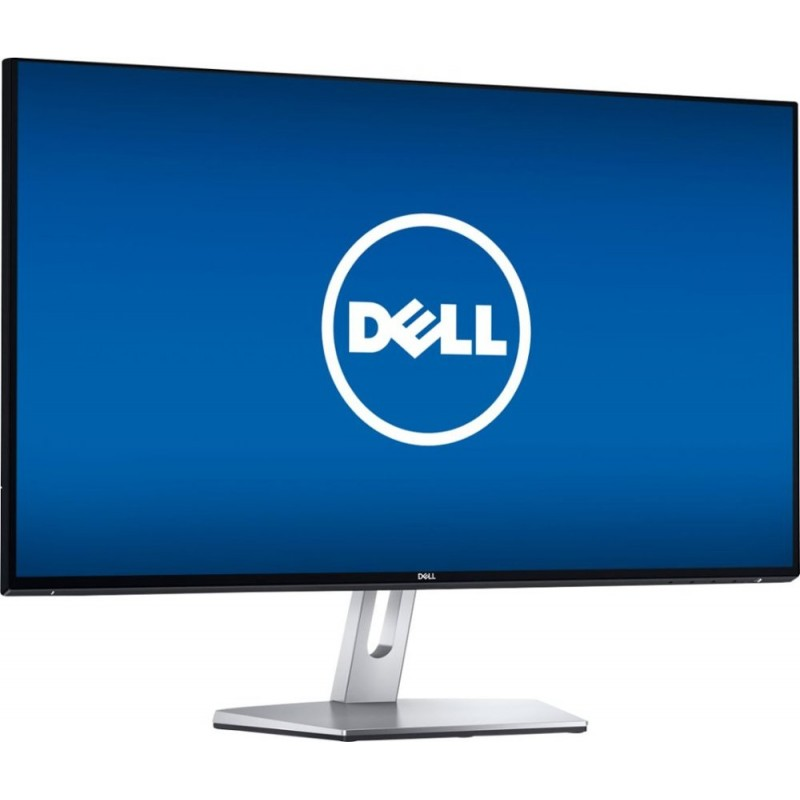 """Dell - S2719NX 27"""" IPS LED FHD Monitor - Black/Silver"""