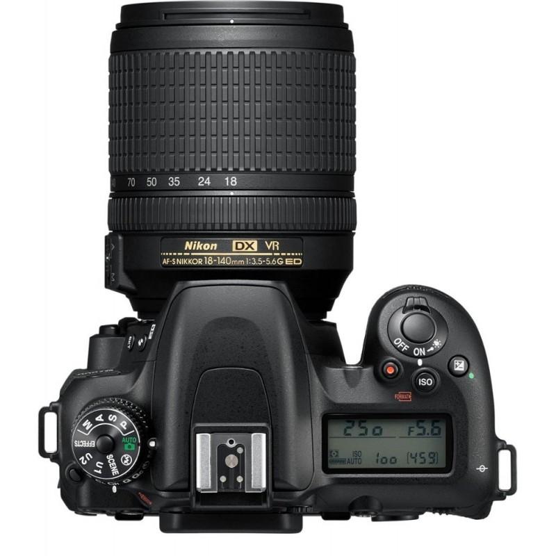 Nikon - D7500 DSLR Camera with AF-S DX NIKKOR 18-140mm f/3.5-5.6G ED VR lens - Black