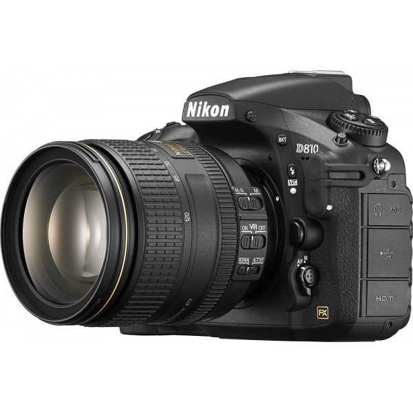 Nikon - D810 DSLR Camera with AF-S NIKKOR 24-120mm...