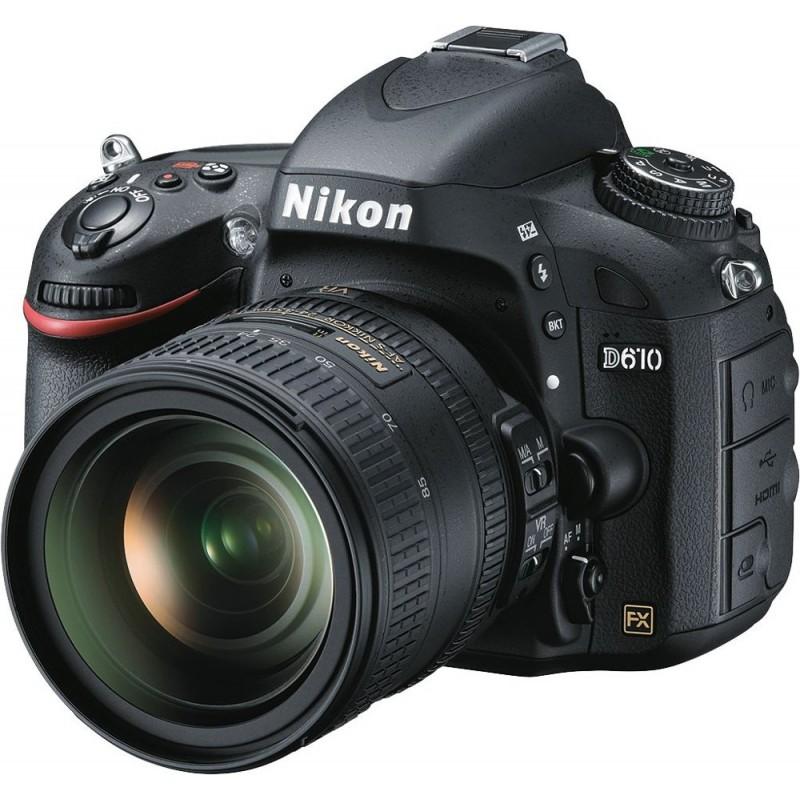 Nikon - D610 DSLR Camera with 24-85mm VR Lens - Black