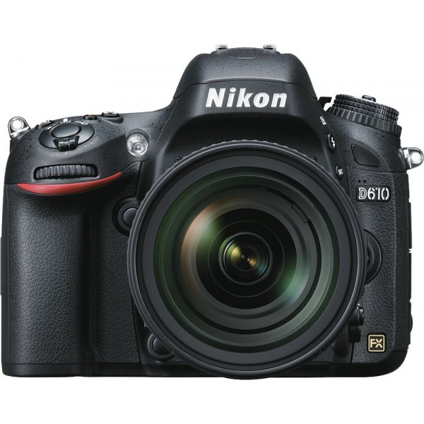 Nikon - D610 DSLR Camera with 24-85mm VR Lens - Bl...