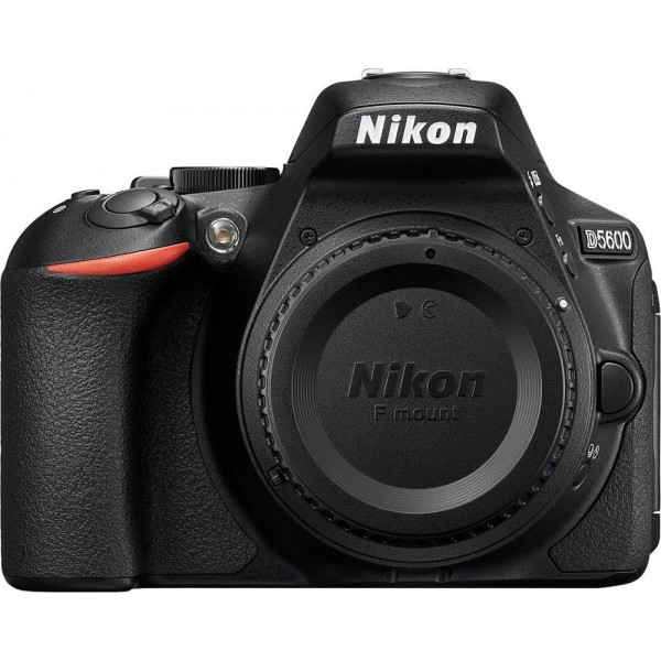 Nikon - D5600 DSLR Camera Body Only - Black