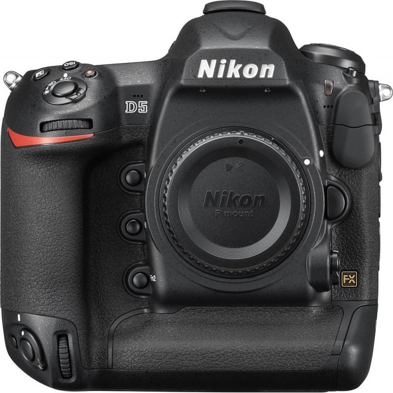 Nikon - D5 DSLR Camera Dual CF (Body Only) - Black
