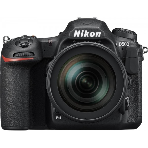 Nikon - D500 DSLR Camera with 16-80mm Lens - Black