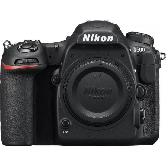 Nikon - D500 DSLR Camera (Body Only) - Black