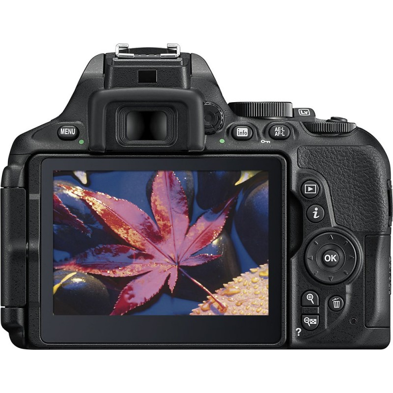 Nikon - D5600 DSLR Camera with AF-S DX NIKKOR 18-140mm f/3.5-5.6G ED VR Lens - Black
