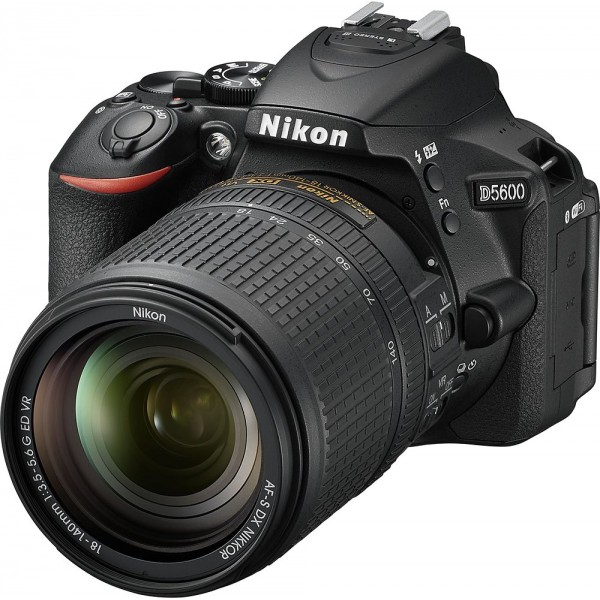 Nikon - D5600 DSLR Camera with AF-S DX NIKKOR 18-1...