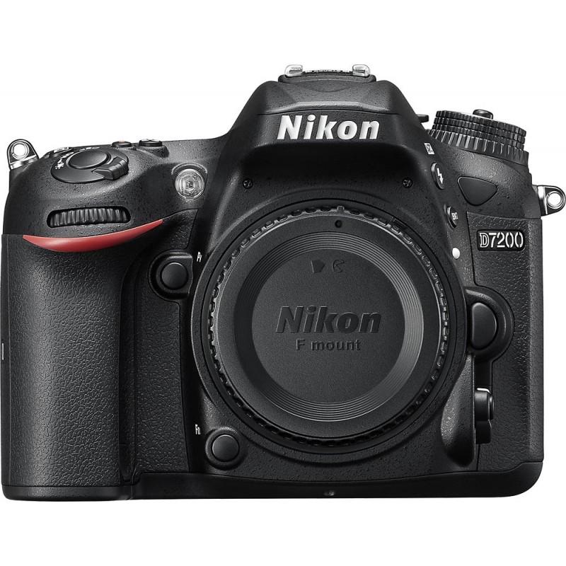 Nikon - D7200 DSLR Camera (Body Only) - Black