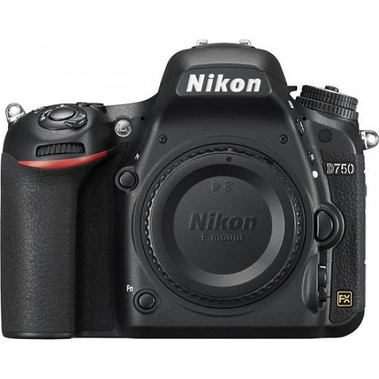 Nikon - D7500 DSLR Camera (Body Only) - Black