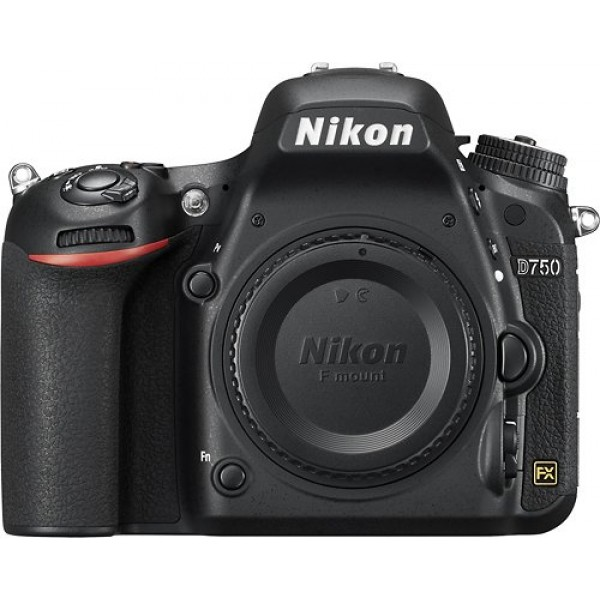 Nikon - D7500 DSLR Camera (Body Only) - Black