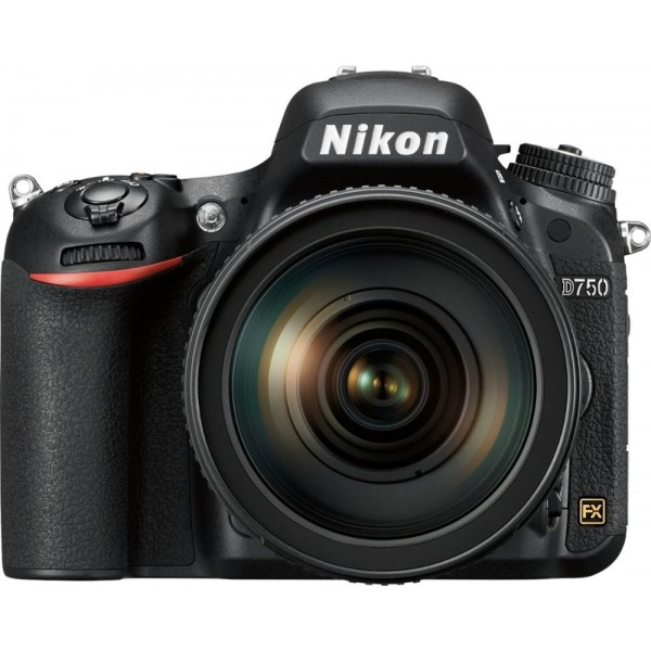 Nikon - D750 DSLR Camera with AF-S NIKKOR 24-120mm...