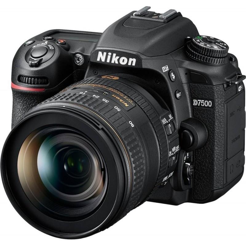 Nikon - D7500 DSLR Camera with AF-S DX NIKKOR 16-80mm f/2.8-4E ED VR lens - Black
