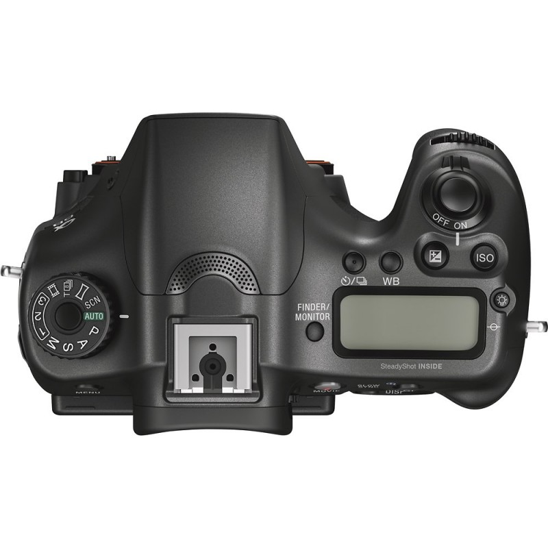 Sony - Alpha a68 DSLR Camera (Body Only) - black
