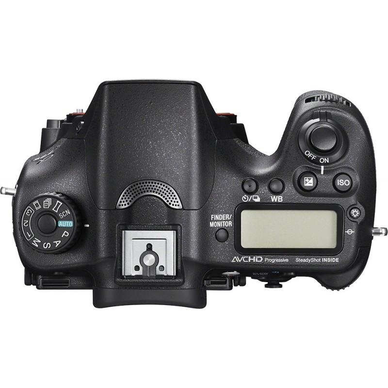 Sony - Alpha a77 II DSLR Camera (Body Only) - Black